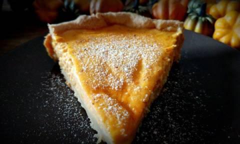 Εύκολη συνταγή για γλυκιά τάρτα από κολοκύθα