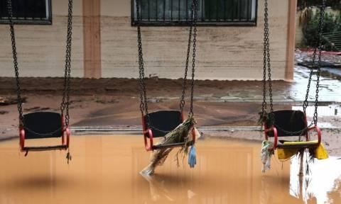 Πλημμύρες: 200.000 ευρώ στα σχολεία της Μάνδρας και της Νέας Περάμου για αποκατάσταση των ζημιών
