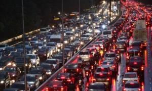 ΤΩΡΑ: Κυκλοφοριακό χάος στην Αθήνα – Ποιους δρόμους να αποφύγετε (Χάρτης)