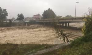 Κακοκαιρία: Αίτημα ενίσχυσης για τις ζημιές από τη θεομηνία στην Κατερίνη