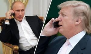 Τηλεφωνική επικοινωνία Πούτιν - Τραμπ: Τι συζήτησαν