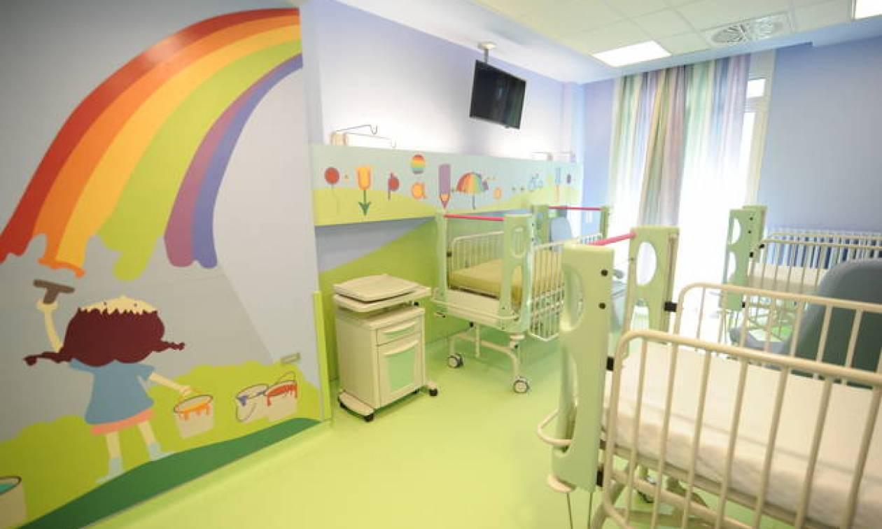 Τα νέα έργα του ΟΠΑΠ στα παιδιατρικά νοσοκομεία