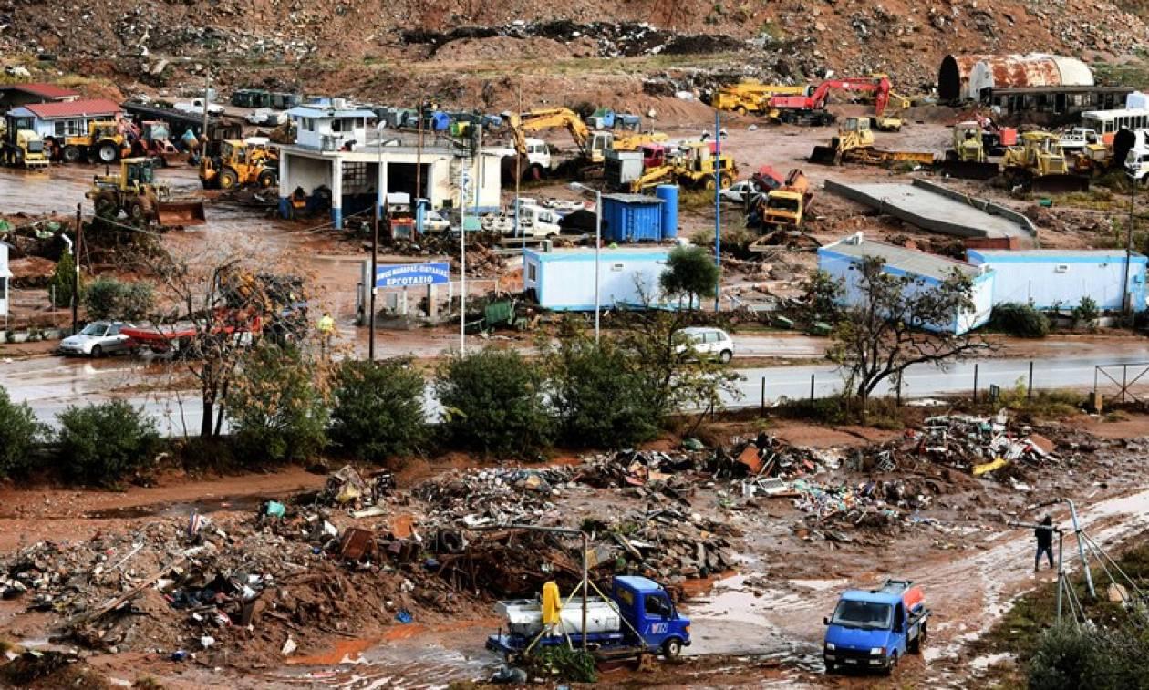«Φαινόμενο τροπικού είδους» η καταιγίδα που προκάλεσε τις πλημμύρες στη Μάνδρα