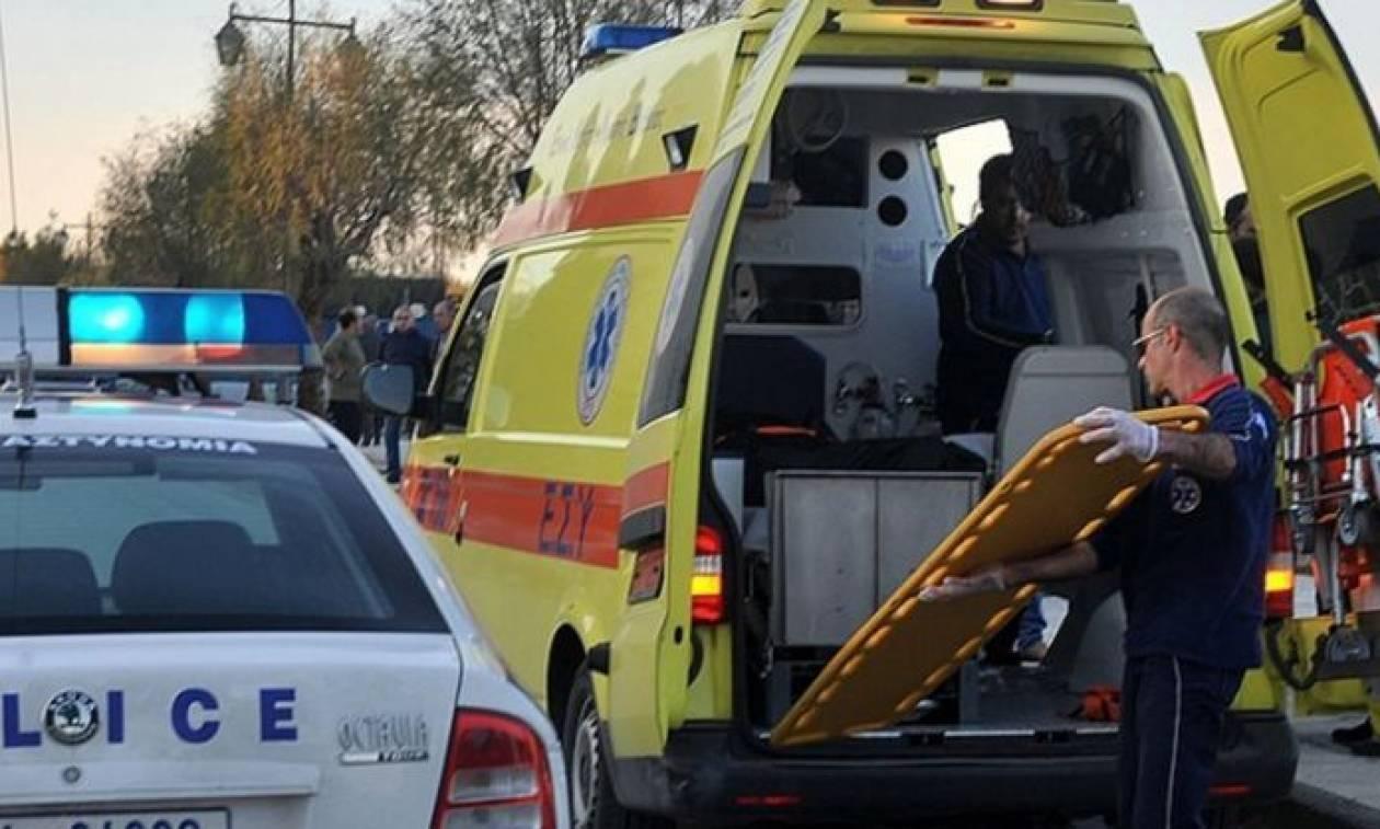 Ηλεία: Τροχαίο με δύο τραυματίες στα Κρέστενα