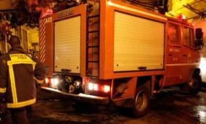 Θεσσαλονίκη: Πυρκαγιά σε διώροφη κατοικία - Απεγκλωβίστηκαν ρακοσυλλέκτες