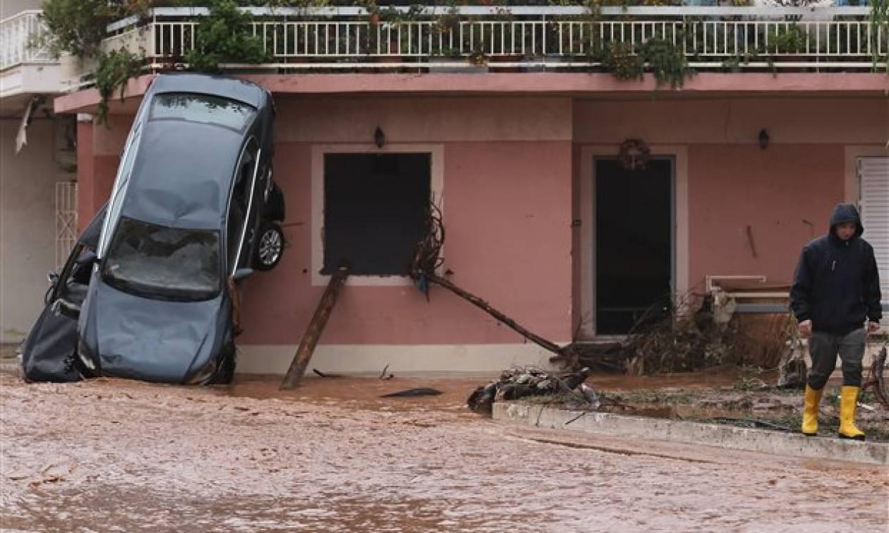 Πλημμύρες δυτική Αττική: Τεράστια η καταστροφή - Σχεδόν 1.400 κτήρια χρήζουν αποζημίωσης