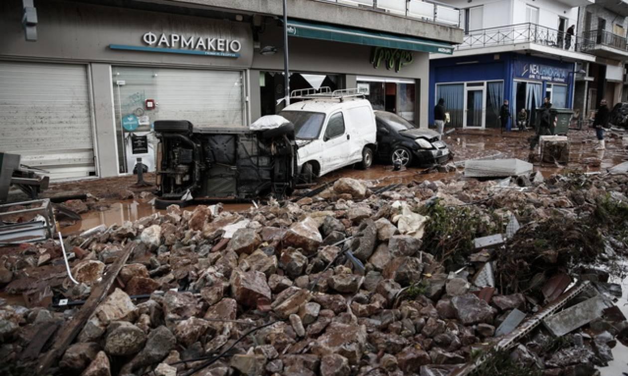 Πλημμύρες στη Δυτική Αττική: Συνεχίζονται οι αυτοψίες στις πληγείσες περιοχές