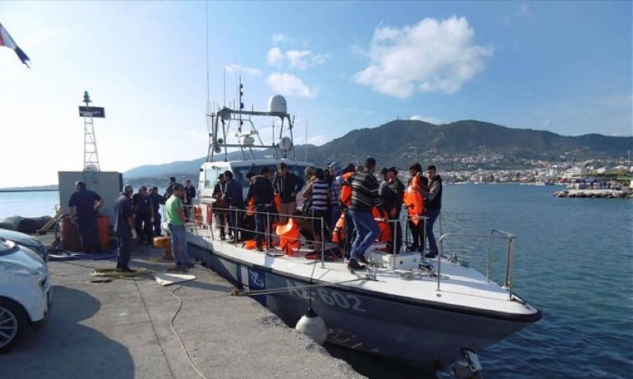 Διασώθηκαν 41 μετανάστες ανοιχτά της Πύλου