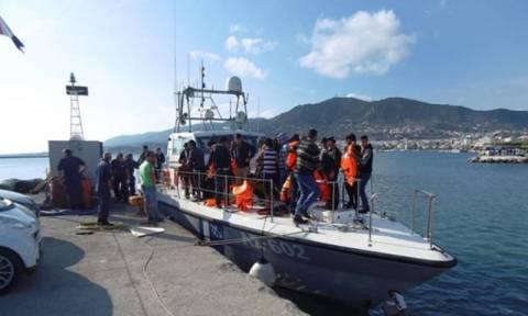 В Греции в районе Пилоса обнаружена лодка, перевозившая 41 беженца