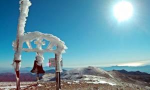 Καιρός: Έπεσαν τα πρώτα χιόνια στον Ψηλορείτη - Μαγευτικές φωτογραφίες
