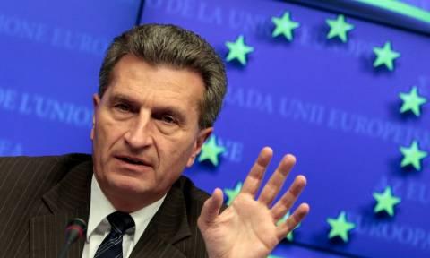 Κομισιόν - Έτινγκερ: Η γερμανική κρίση εμπόδιο για τις μεταρρυθμίσεις στην Ευρωζώνη