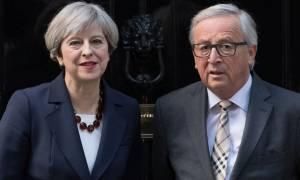 Καθοριστική η συνάντηση Γιούνκερ - Μέι για την πορεία του Brexit