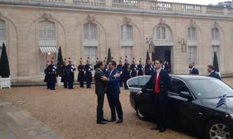 В Париже состоялась встреча Алексиса Ципраса и Эммануэля Макрона