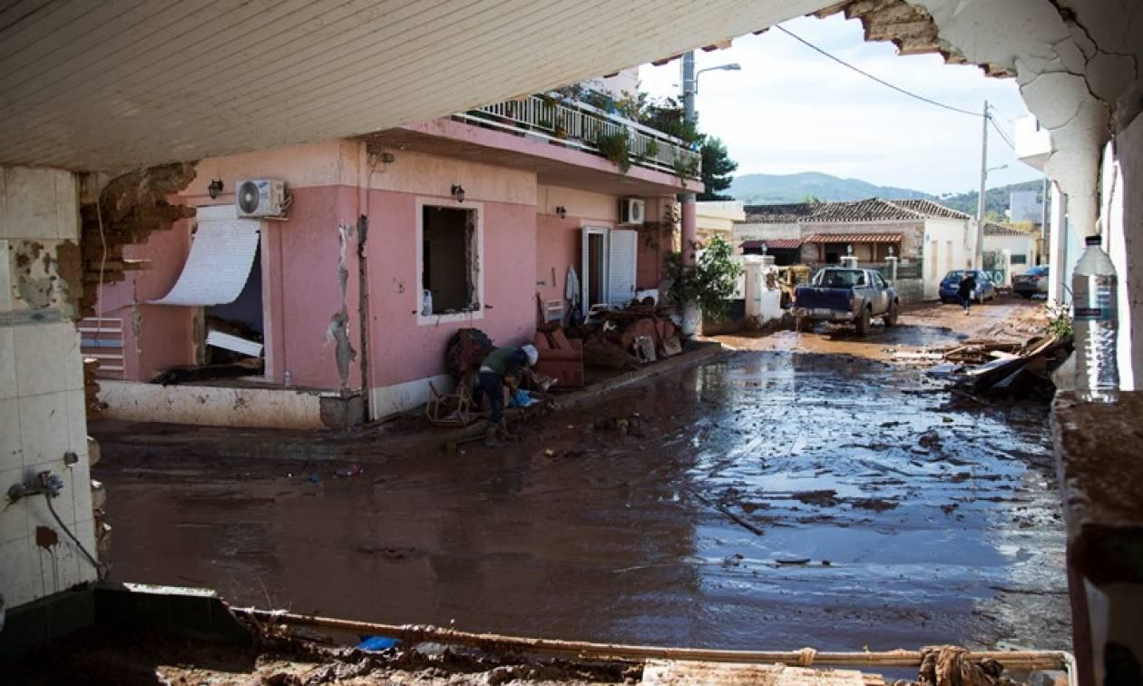 Συγκλονιστικό βίντεο από drone: Έτσι είναι σήμερα η «πληγωμένη» από τις πλημμύρες Μάνδρα