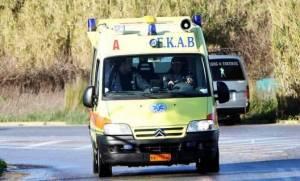 Πρέβεζα: Ασθενοφόρο συγκρούστηκε με δυο μοσχάρια