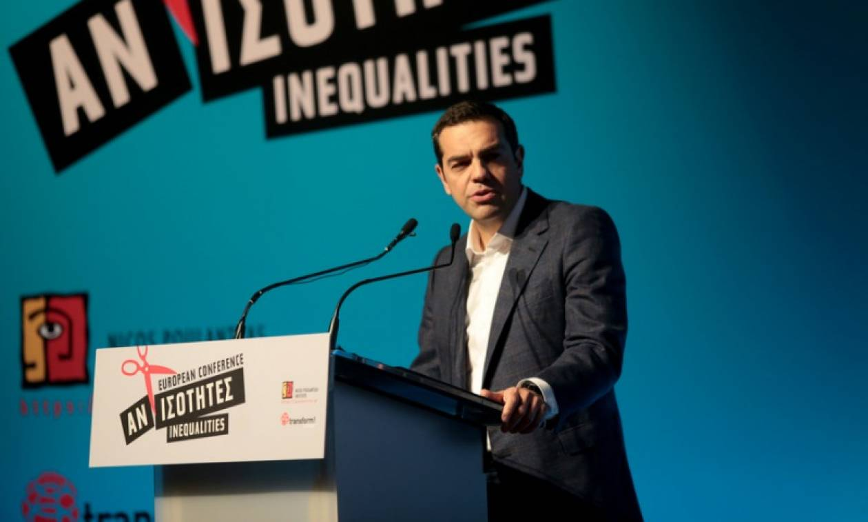 Τσίπρας: Βασικό πρόβλημα στην Ευρώπη το έλλειμμα Δημοκρατίας