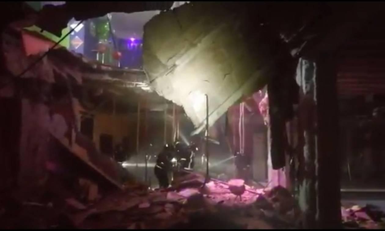 Πανικός σε κλαμπ: Υποχώρησε το πάτωμα - Τουλάχιστον 40 τραυματίες (pics+vid)
