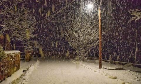 Καιρός: Χιόνια και σε χαμηλά υψόμετρα τη Δευτέρα – Πού θα το στρώσει