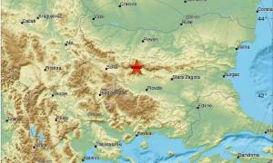 Σεισμός στη Βουλγαρία