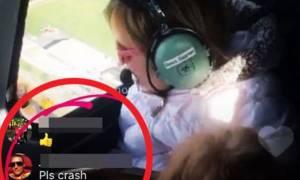 Διάσημος μπαμπάς τα «χώνει» σε άνδρα που ευχήθηκε να συγκρουστεί το ελικόπτερο με την κόρη του