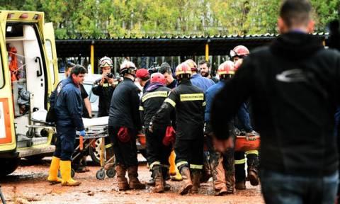 В Греции в районе Мандра обнаружено тело еще одного пострадавшего в результате наводнения