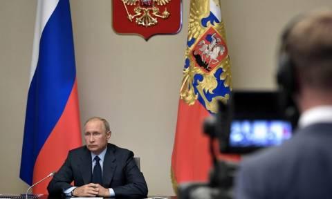 Путин призвал все страны уничтожить свои запасы химического оружия по примеру России