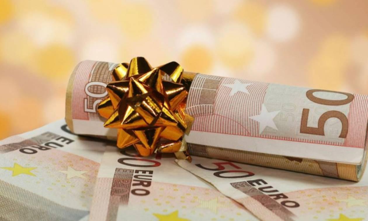 Δώρο Χριστουγέννων: Πότε καταβάλλεται και πώς υπολογίζεται