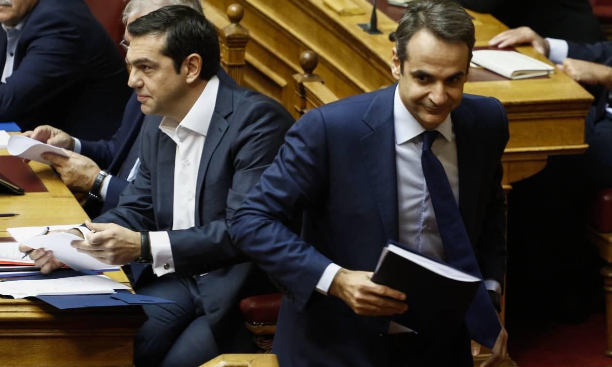 Βουλή - Μητσοτάκης σε Τσίπρα: Καλώς τον κι ας άργησε - Ανησύχησα…