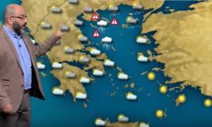 Προσοχή! Η έκτακτη προειδοποίηση του Σάκη Αρναούτογλου για επιδείνωση και νέες πλημμύρες (Video)
