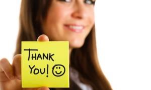 Οι πιο ευφάνταστοι τρόποι να πείτε «ευχαριστώ»