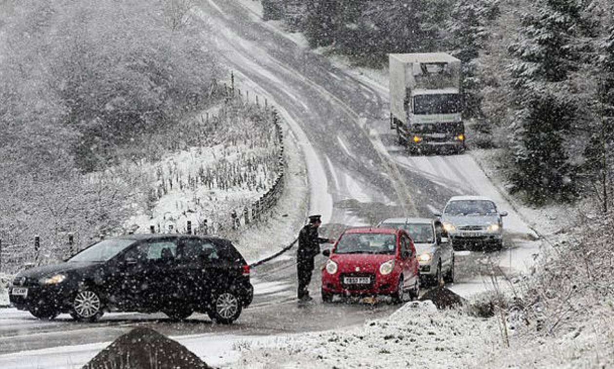 Δυτική Μακεδονία: Πού χρειάζονται αλυσίδες μετά τα χιόνια στα ορεινά