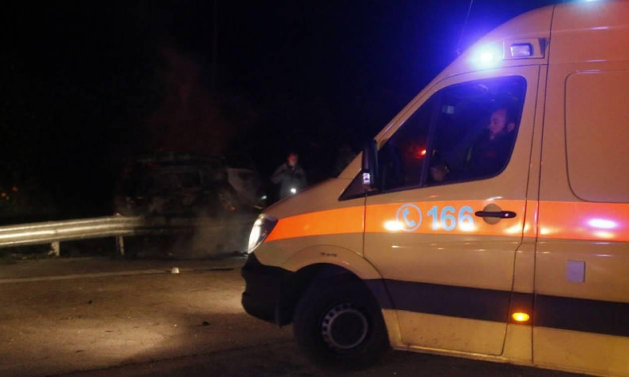 Τροχαίο με τρεις τραυματίες στην Κρήτη: Μεταξύ τους και ένα 4χρονο παιδί