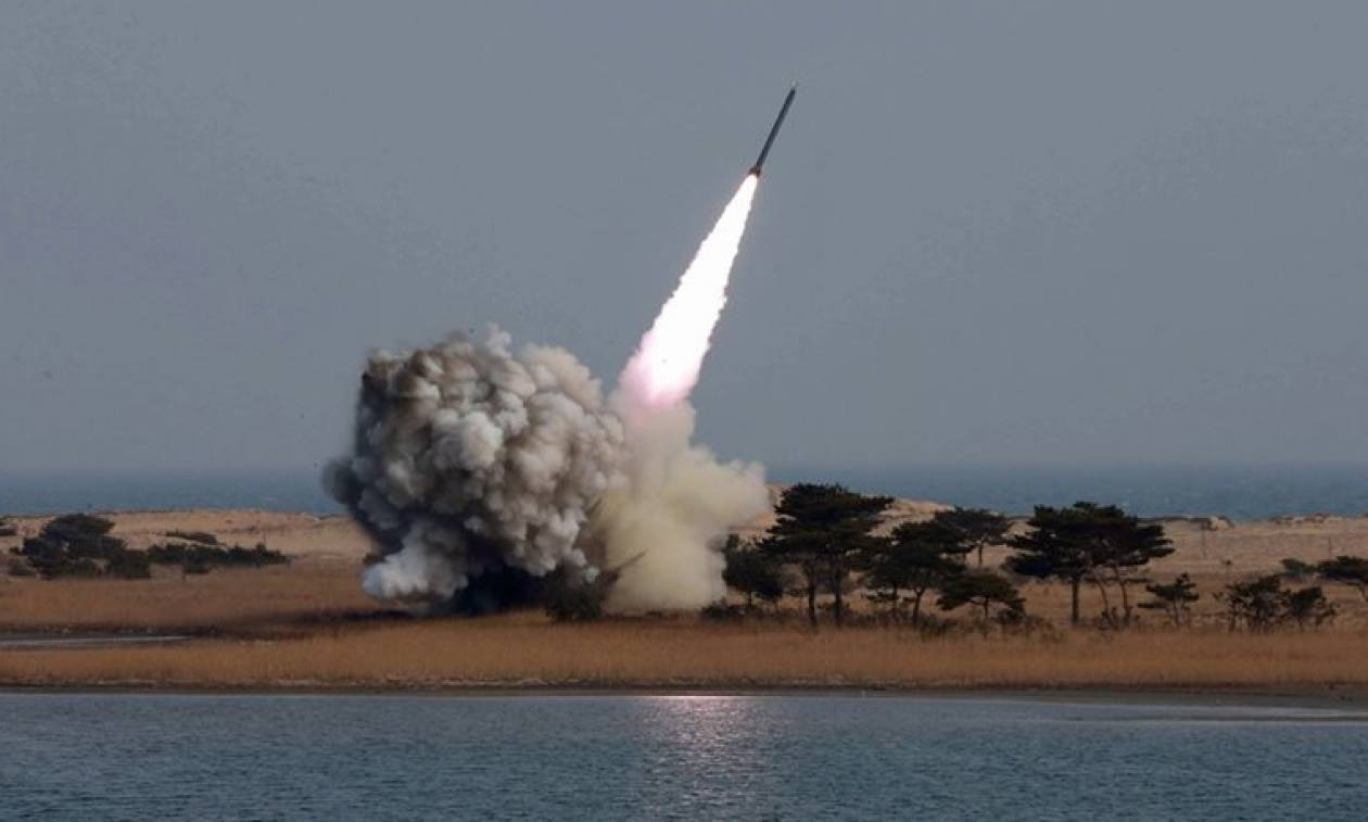 Το ΥΠΕΞ καταδικάζει τη νέα πυραυλική δοκιμή της Βόρειας Κορέας