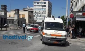 Θεσσαλονίκη: Αυτοκίνητο παρέσυρε και τραυμάτισε γυναίκα