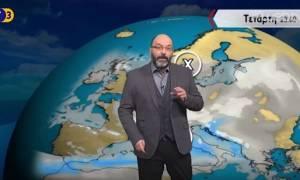 Καιρός - Προειδοποίηση Αρναούτογλου: Tεράστιος κίνδυνος τις επόμενες ώρες (vid)