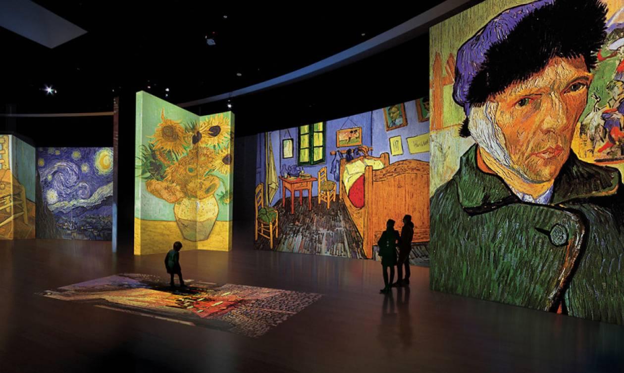 Van Gogh Alive - The Experience: Οι ξεναγήσεις ξεκινούν!