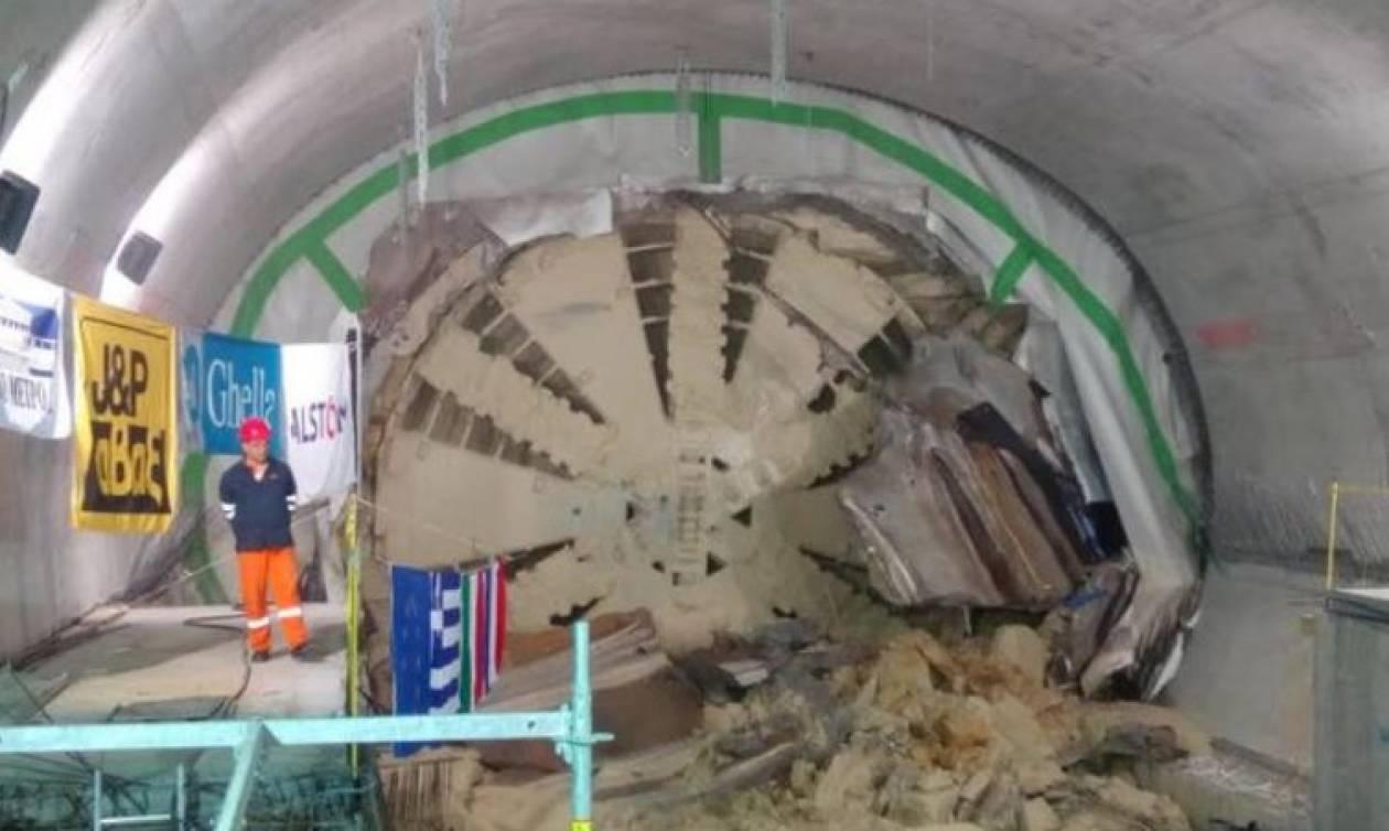 Ολοκληρώθηκε η διάνοιξη της σήραγγας του Μετρό στον Πειραιά