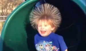 Τα πιο αστεία μαλλιά που έχετε δει είναι αυτών των παιδιών (video)