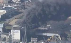 Έκρηξη σε εργοστάσιο με χημικά στην Ιαπωνία - Δεκάδες οι τραυματίες