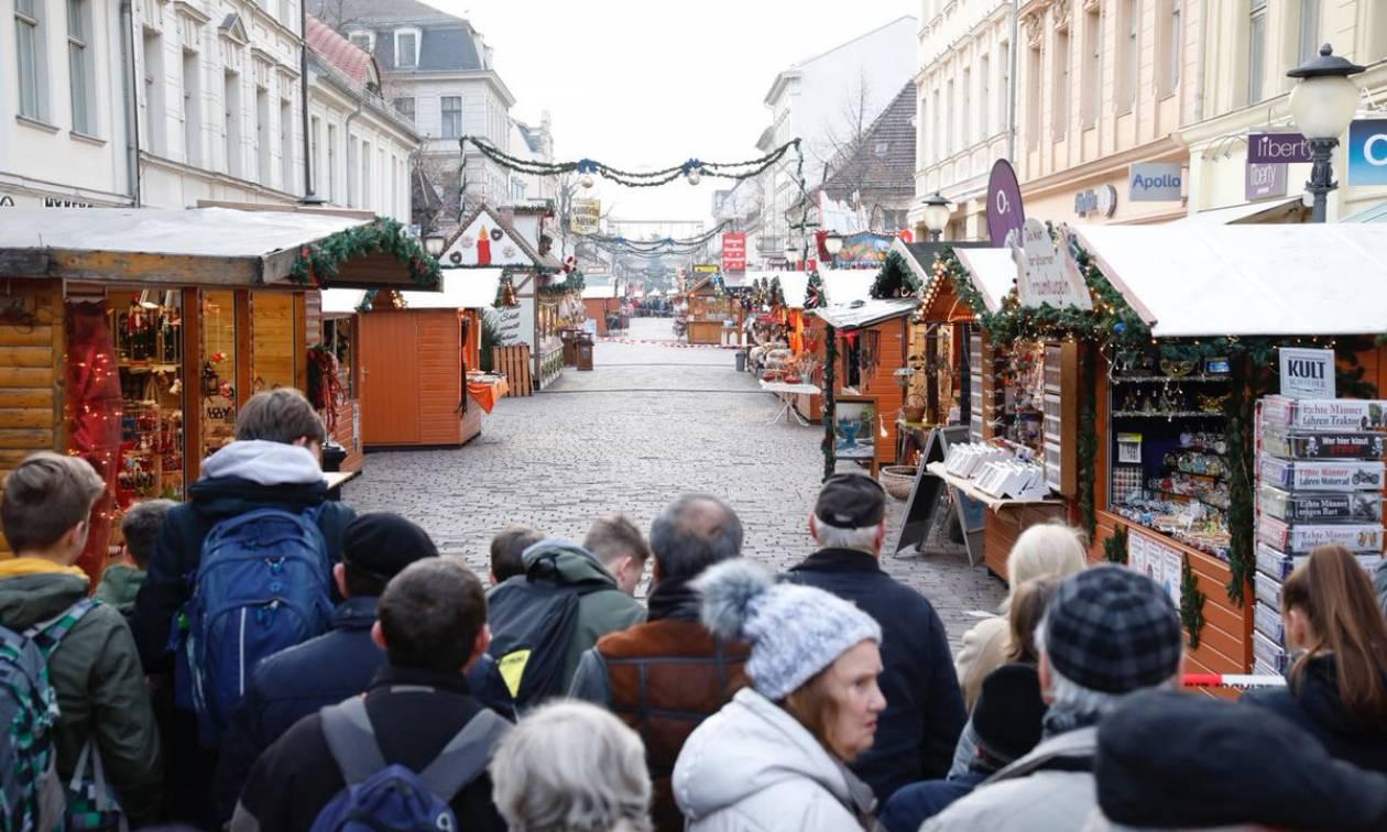 Γερμανία: Συναγερμός σε χριστουγεννιάτικη αγορά