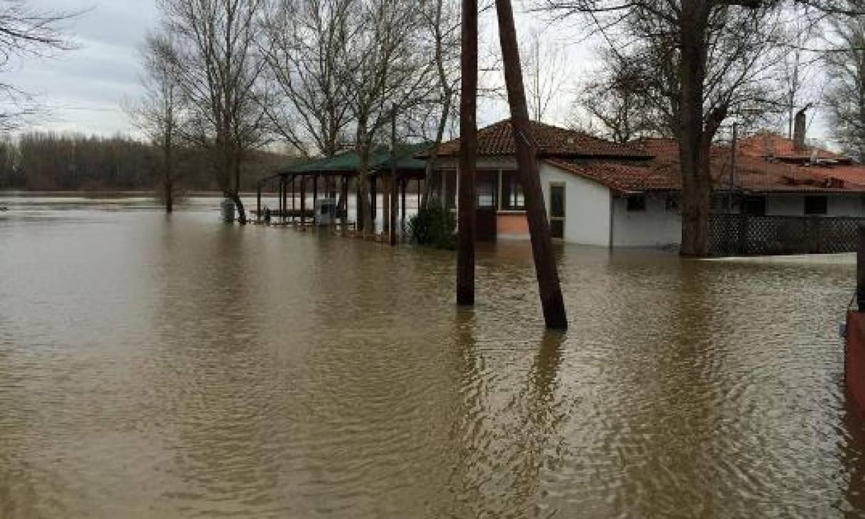 «Συναγερμός» στον Έβρο: Αναμένονται μεγάλες ποσότητες νερού από τη Βουλγαρία