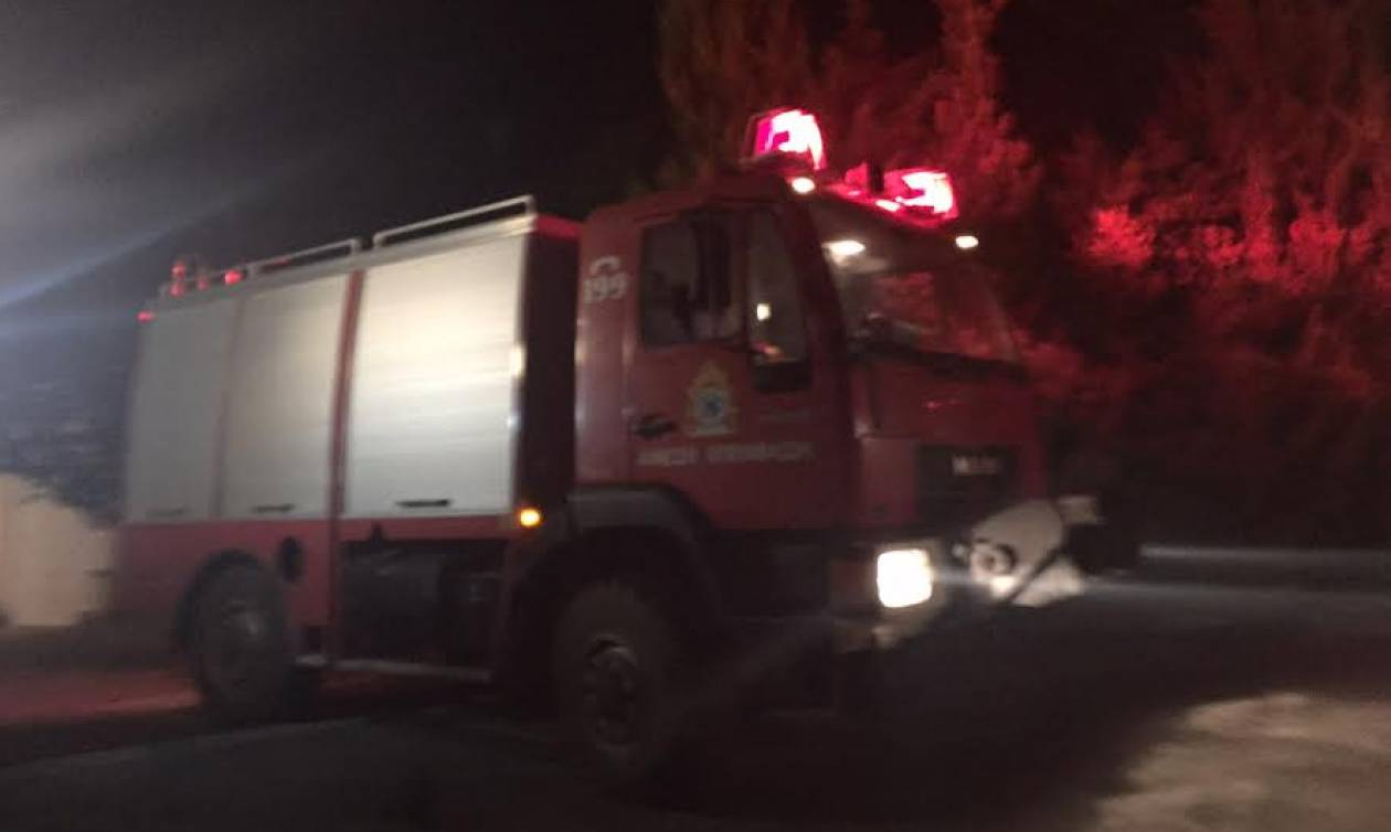Κακοκαιρία: Αποκολλήθηκε κομμάτι από το βουνό στην Άνω Ράχη Πρέβεζας (pics)