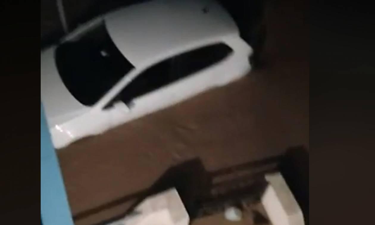 Κακοκαιρία: Υπερχείλισε ο ποταμός Λούρος - Πλημμύρισαν σπίτια και καταστήματα (pics)