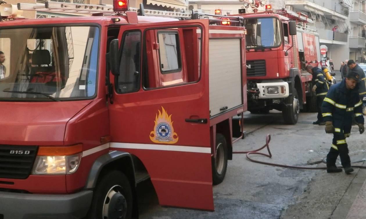 Αγ. Βαρβάρα: Άνδρας εντοπίστηκε χωρίς τις αισθήσεις του μετά από πυρκαγιά σε διαμέρισμα