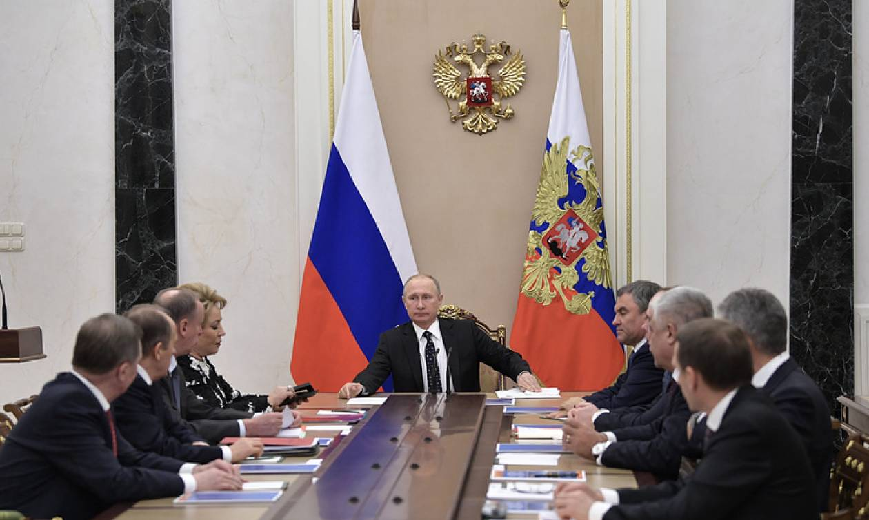 Путин проведет совещание Совета Безопасности Российской Федерации - Песков