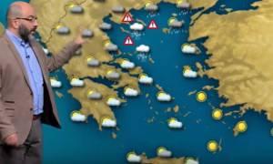 Έκτακτη προειδοποίηση από τον Σάκη Αρναούτογλου: «Προσοχή. Νέα επιδείνωση του καιρού...»