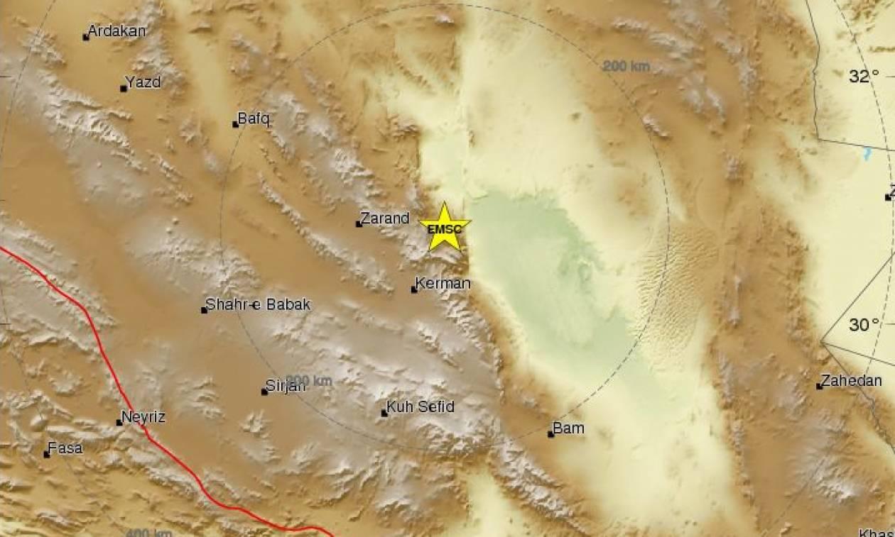 Ισχυρός σεισμός στο Ιράν
