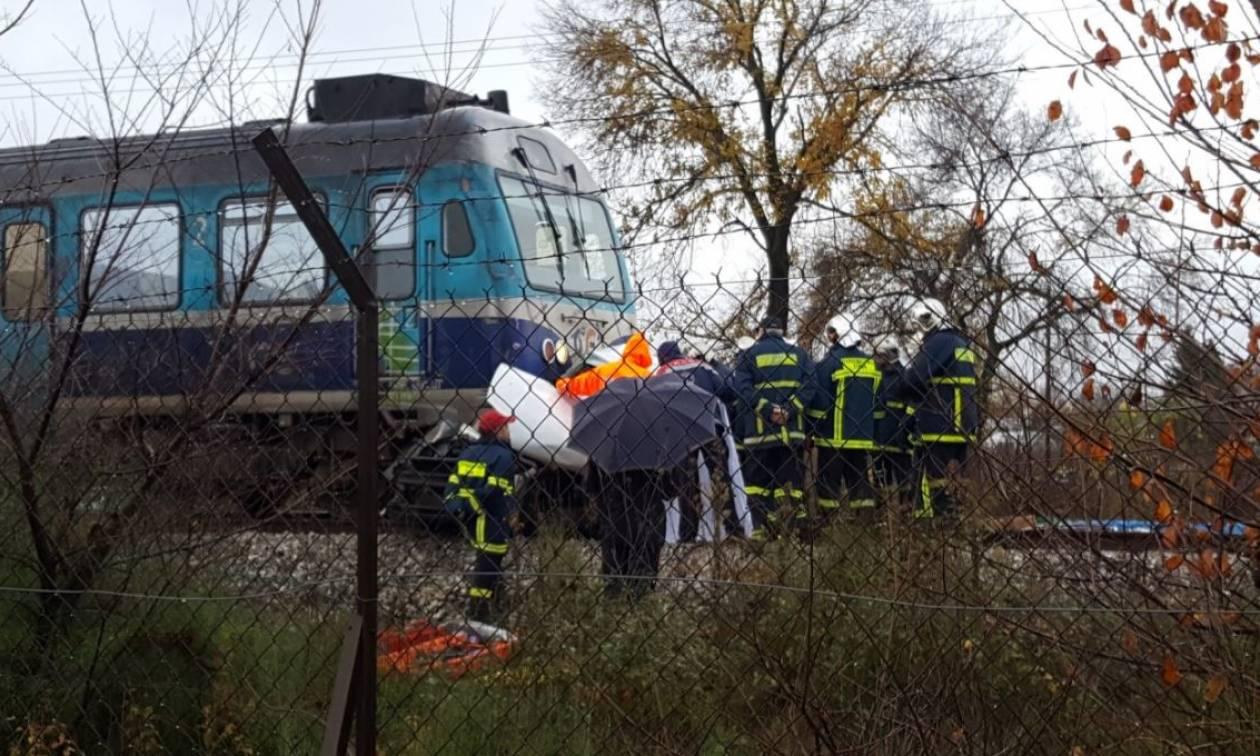 Τρίκαλα: Σκοτώθηκε ο Κώστας Μαλανδρινός - Τρένο παρέσυρε το αυτοκίνητό του