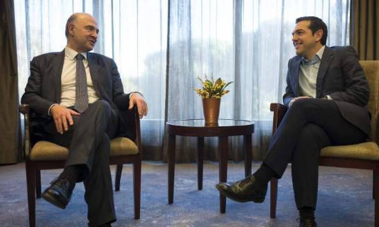 Μοσκοβισί σε Τσίπρα: Πρέπει να ανταμειφθούν οι θυσίες των Ελλήνων