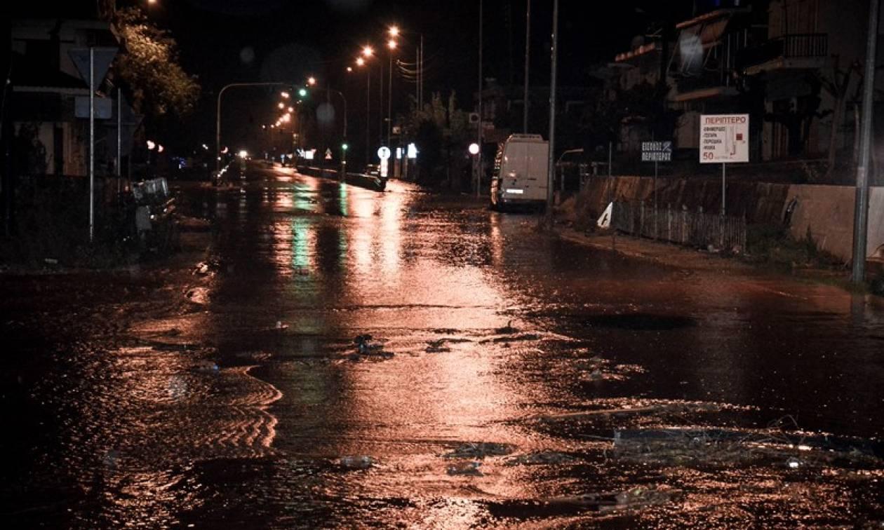 Κακοκαιρία: Σε κατάσταση έκτακτης ανάγκης Μεσολόγγι και Αγρίνιο